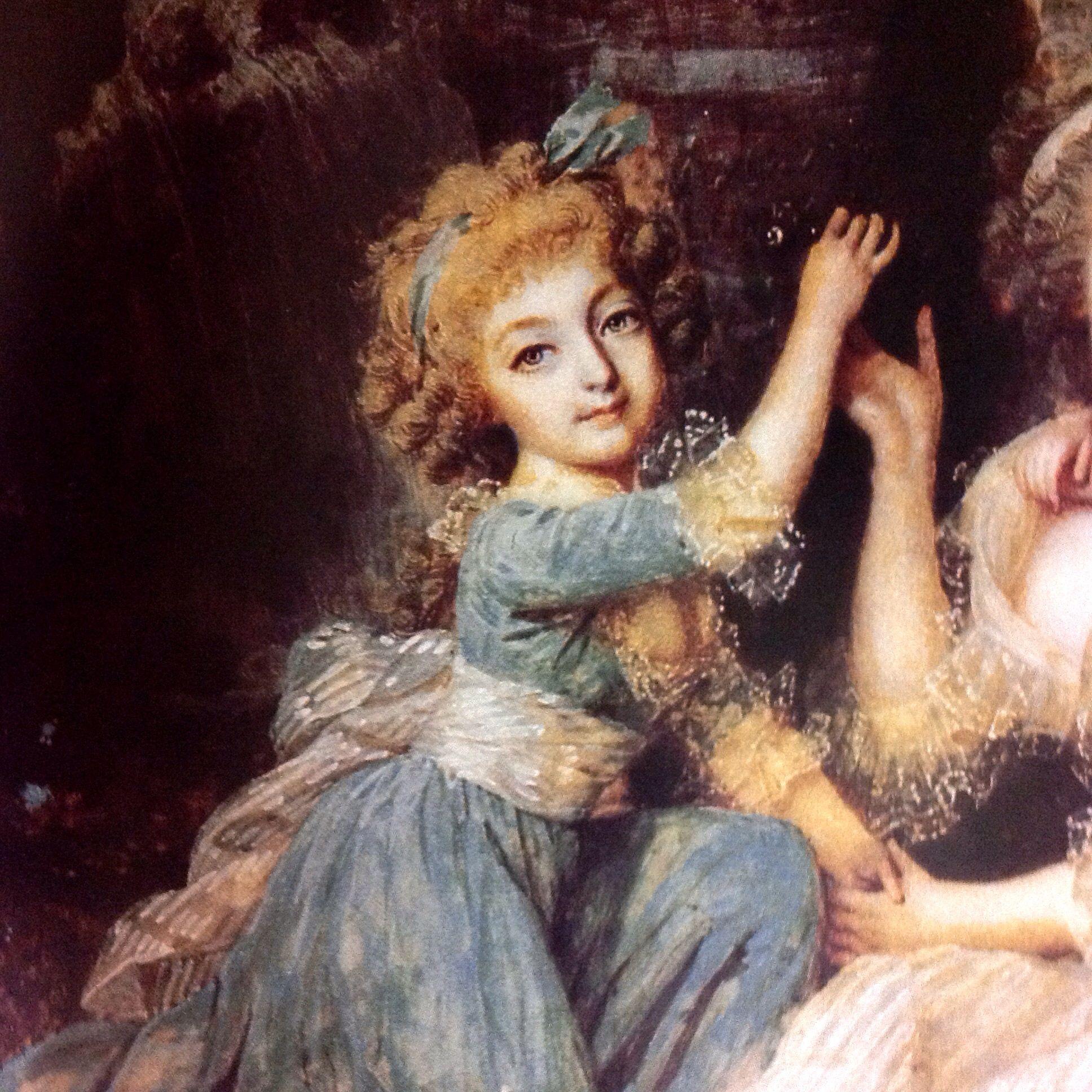 Madame Royal de una miniatura de Dumont