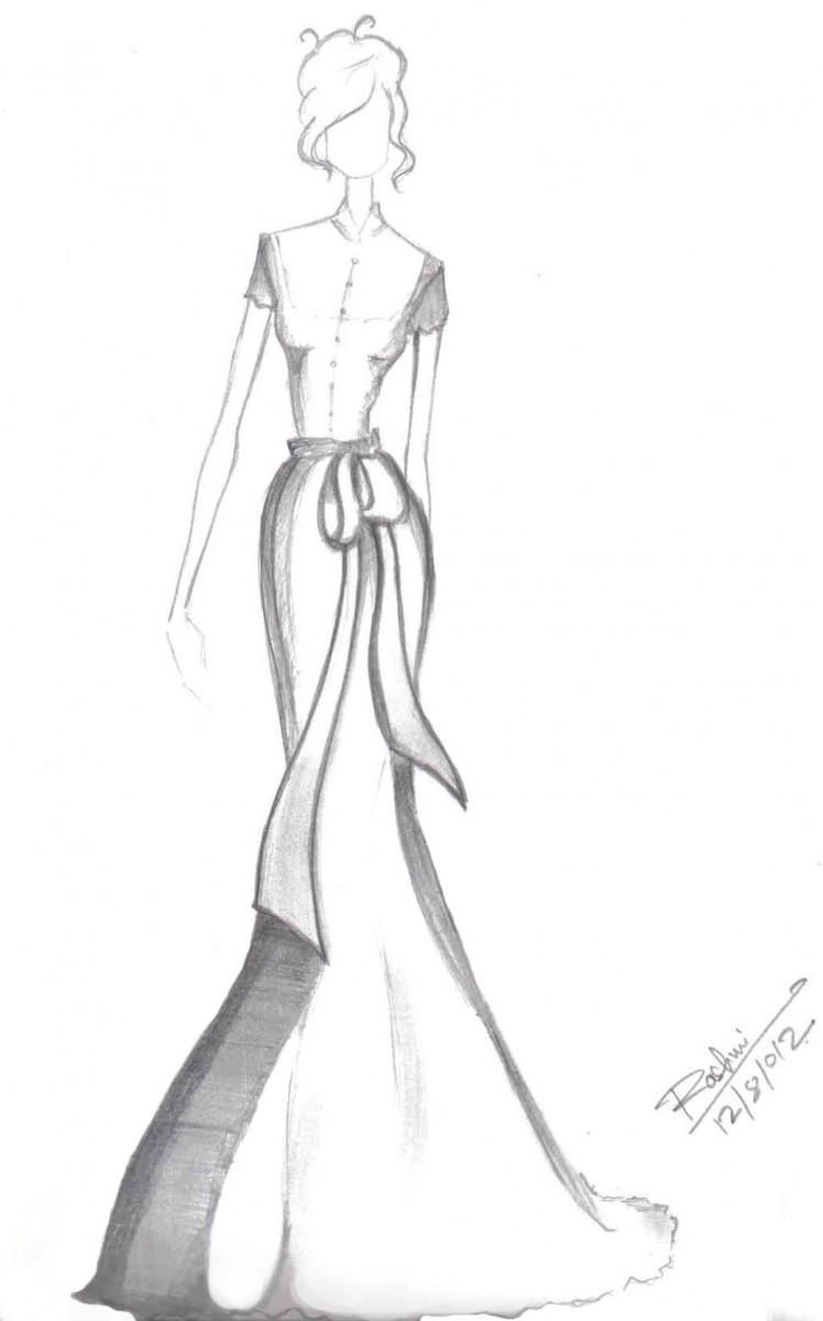 Fashion Pencil Sketches