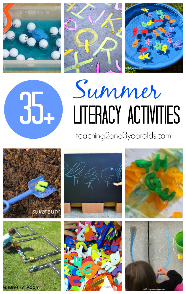 35 Preschool Literacy Ideas That Are Perfect For Summer