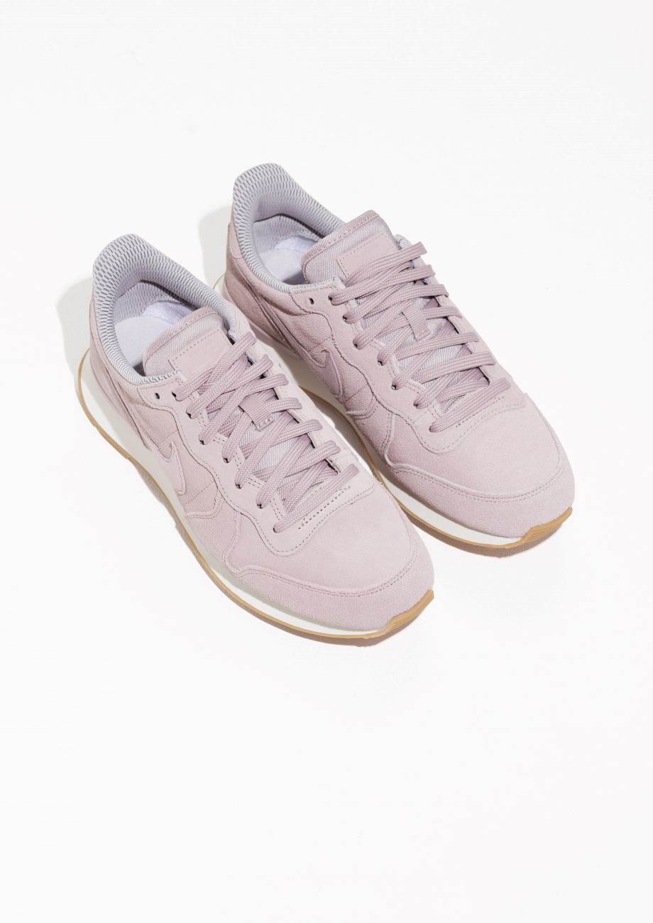 new concept 3ed1d f9c1d Other Stories image 2 of Nike Internationalist in Peach