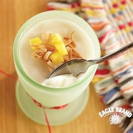 Coconut Pudding with Mango from Eagle Brand®