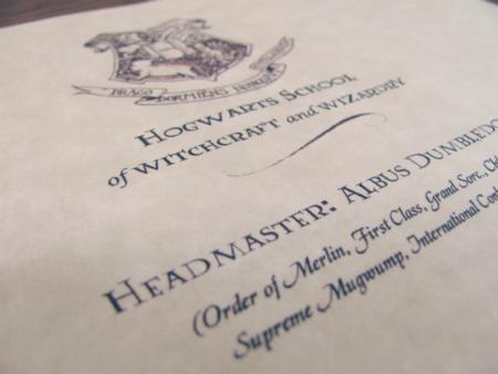 "rainbowsandunicornscrafts "" DIY Hogwarts Acceptance"