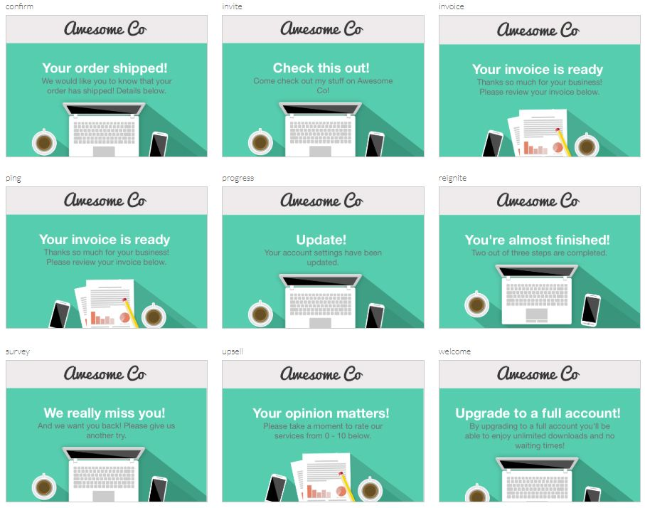 99+ Free Responsive HTML Email Templates to Grab in 2020
