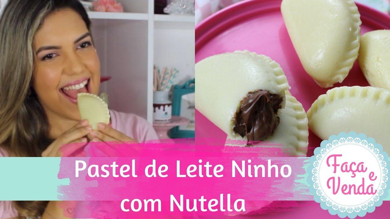 Receita Pastel De Leite Ninho Com Nutella Mari Barreto Com