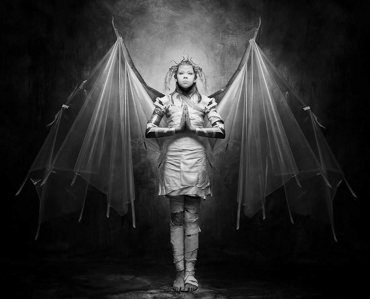 joel peter witkin images Google Search Fallen angel