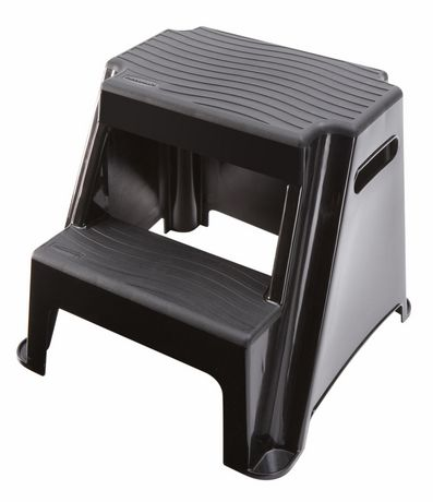 Tremendous Rubbermaid 2 Step Molded Plastic Stool In 2019 Plastic Pabps2019 Chair Design Images Pabps2019Com