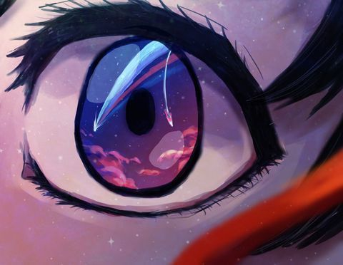 Wish I had pretty eyes~ on We Heart It