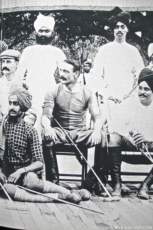 the jodhpur polo team
