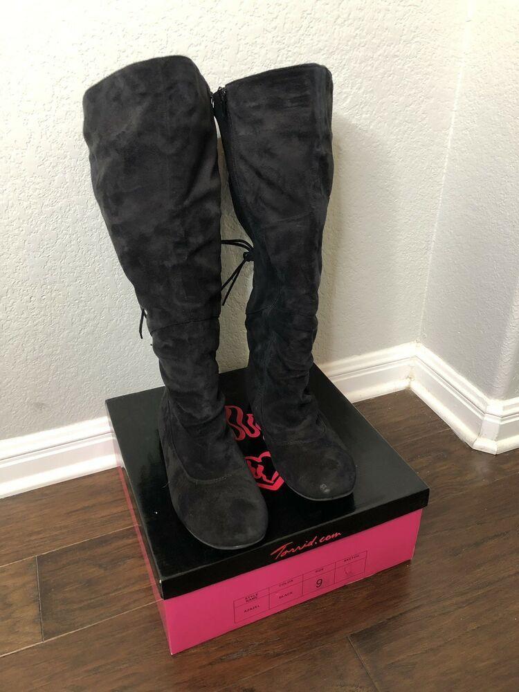 c988f042ef1 Torrid Women's Wide Calf Boots Black Size 9 #fashion #clothing ...