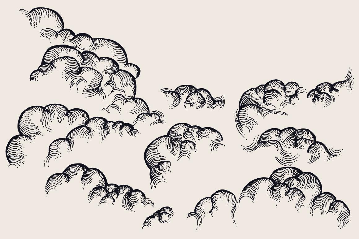 Star Moon Cloud Sky Drawings Cloud Drawing Clouds Cloud