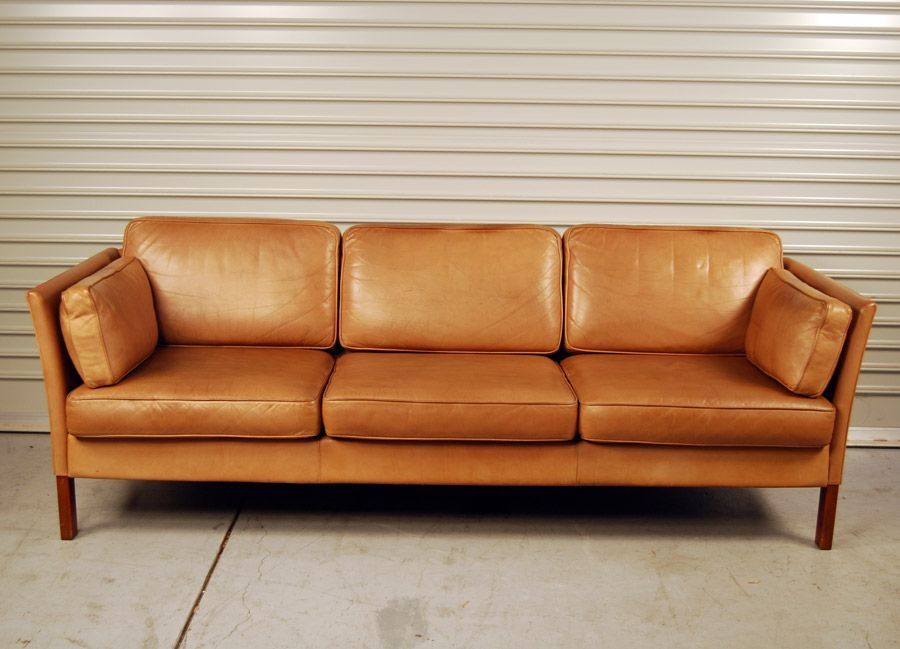 Tan Leather Couch Modern   Google Search