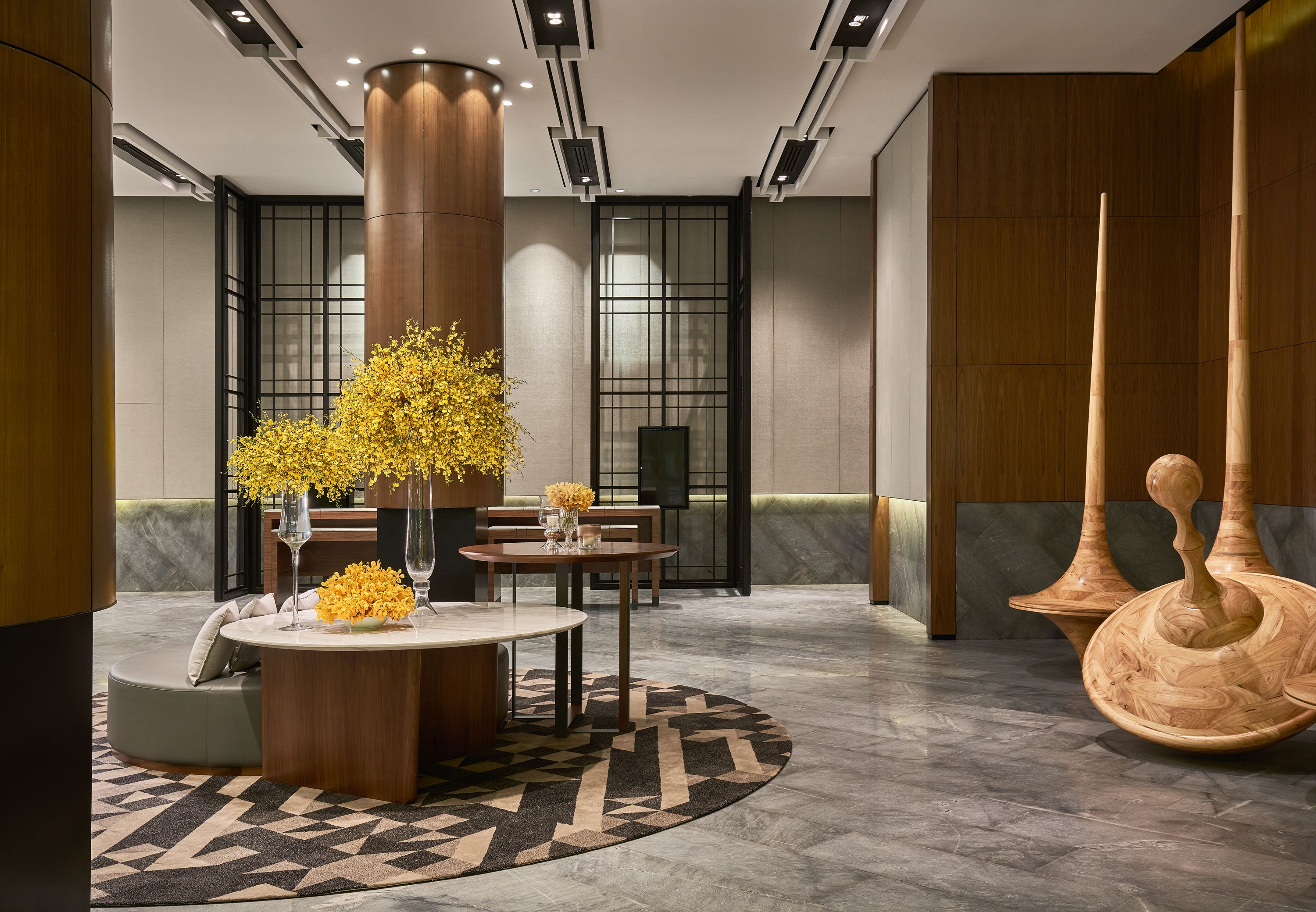 Pin by 佩儀 吳 on lobby pinterest timber cladding lobbies and