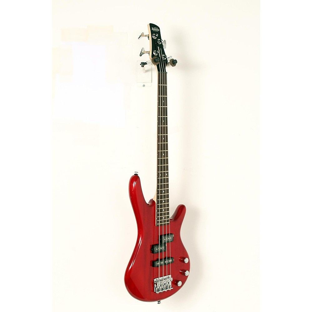 Ibanez GSRM20 Mikro ShortScale Bass Guitar Transparent Red