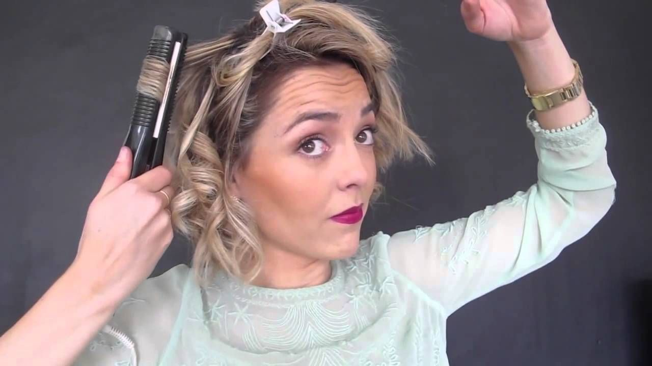 Como peinar pelo corto BOB IN Pinterest Hair style Bobs and