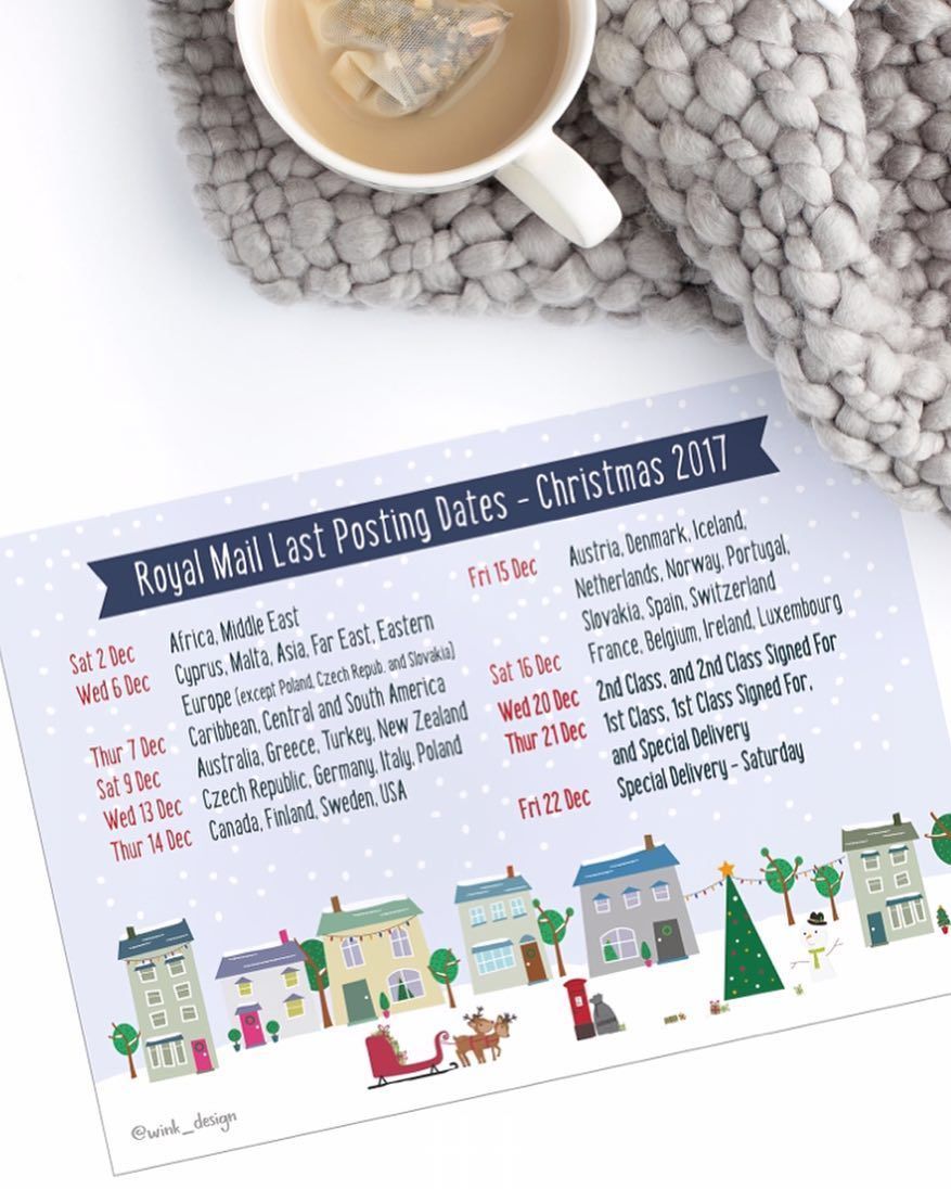 Small Business Friends Download Your Free Royal Mail Xmas Posting Dates Poster From The Wink Design Co Uk Blog Now Business Friends Small Business Help Design