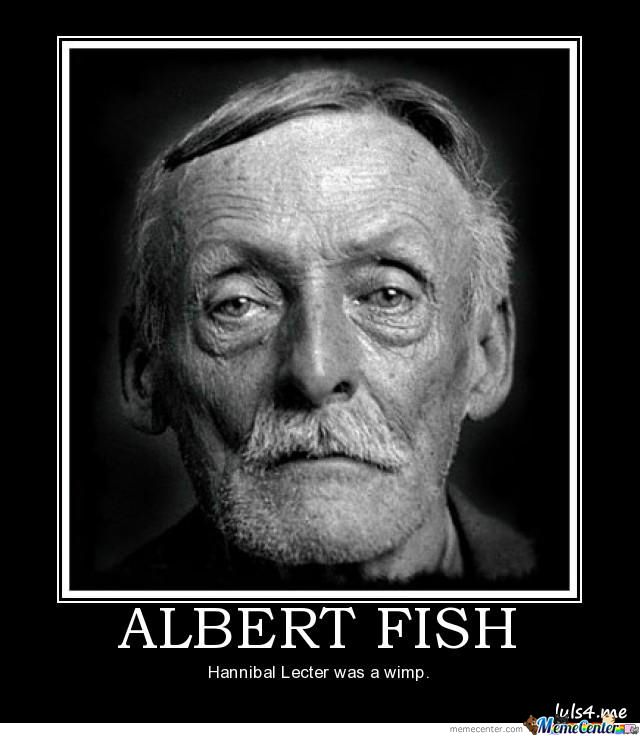 Worst serial killer never caught a fish