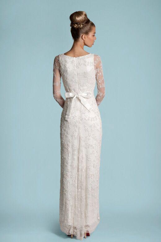 Vintage Straight Wedding Dresses