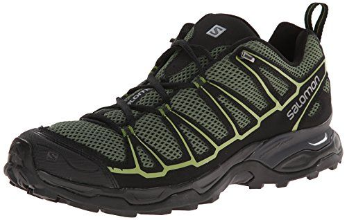 Salomon Men's X Ultra Prime Multifunctional Hiking Shoe, Beetle Green/Black/Turf Green, 12 M US *** Click affiliate link Amazon.com on image to review more details.