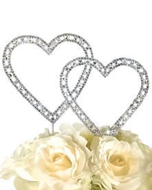 Unik Occasions - Large Timeless Collection Double Heart