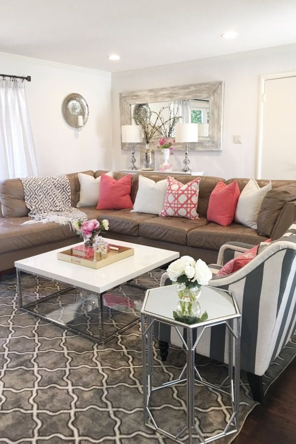 Living Room Restyle Simple Living Room Simple Living Room Decor
