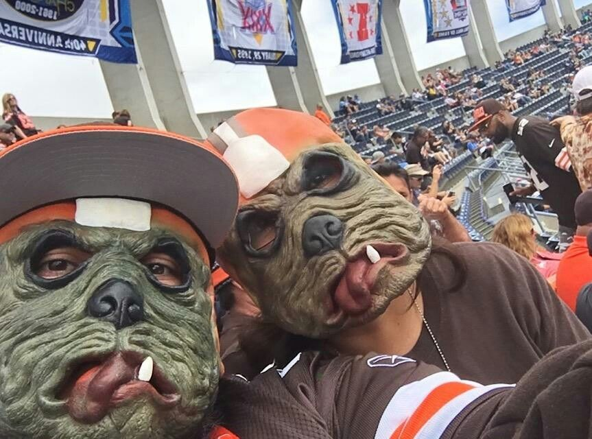 Cleveland Browns ~Dawg Pound