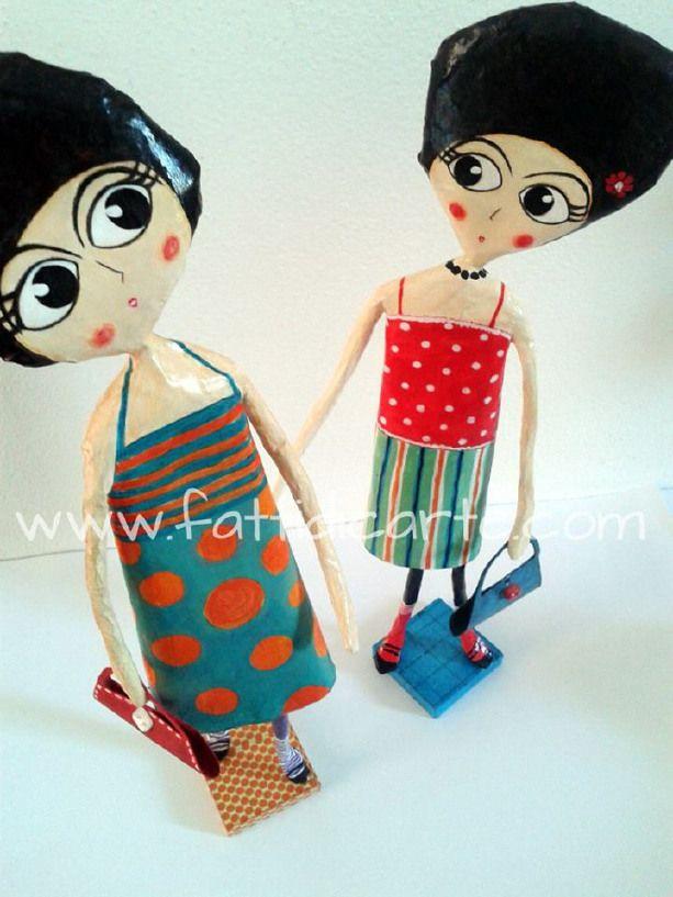 Tina e Lisa Dolls por FattiDiC'Arte en Blomming