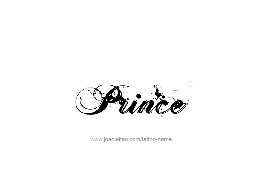 Prince Name Tattoo Designs Name Tattoo Designs Name Tattoo Prince Tattoos