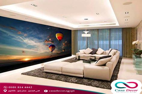 ورق جدران أو ورق حائط ثلاثي الأبعاد بأفضل أسعار 2019 يمكنكم الآن تركيب ورق الجدران الخاص بالمجالس وغرف النوم باحدث التصا Decor Flat Screen Electronic Products