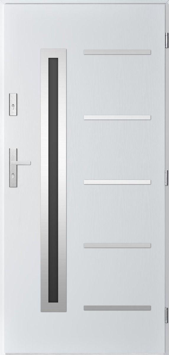 Sta Picard – stainless steel front door