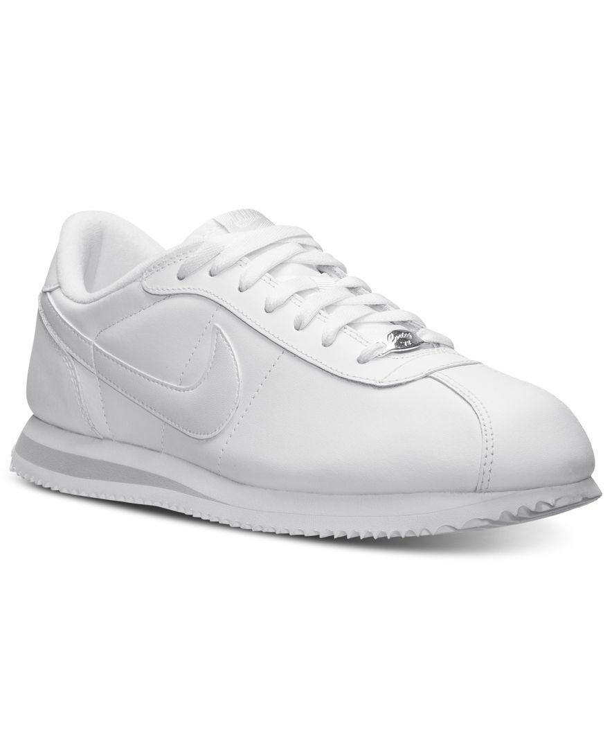 official photos db7f7 13388 Nike Men's Cortez Basic Leather Casual Sneakers from Finish ...