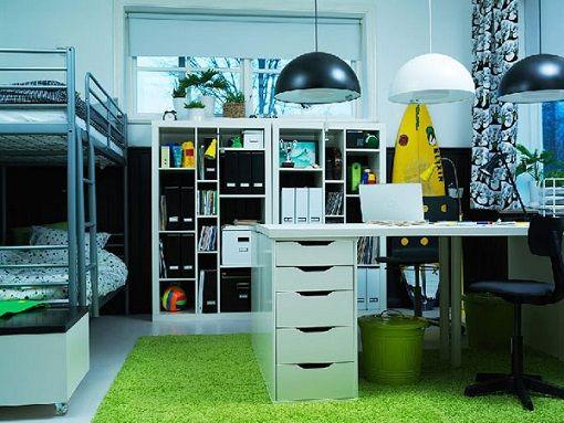Habitaci n juvenil ikea para dos dormitorio pinterest - Ikea dormitorio juvenil ...