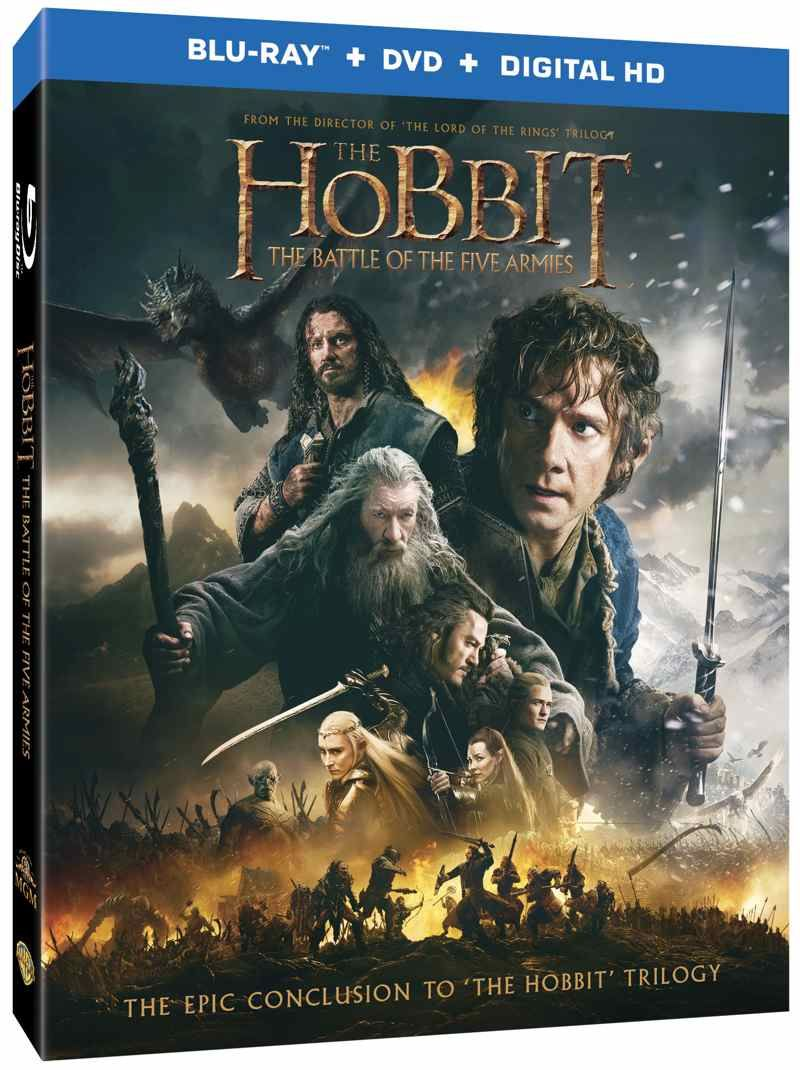 4d571f5e24a THE HOBBIT THE BATTLE OF FIVE ARMIES DVD And Blu-ray Release Details ...