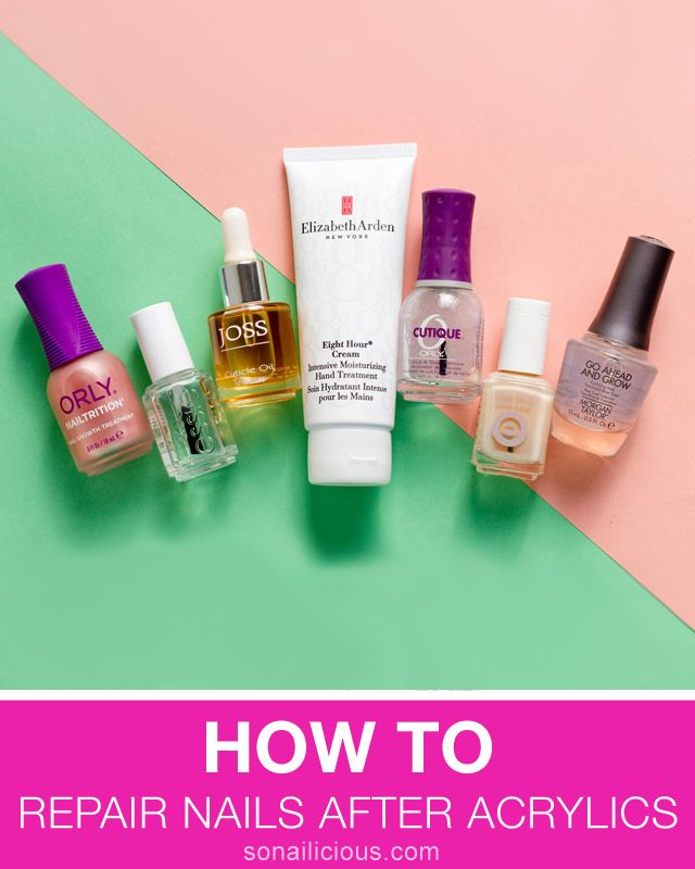 Expert Advice: How to Repair Nails After Acrylics