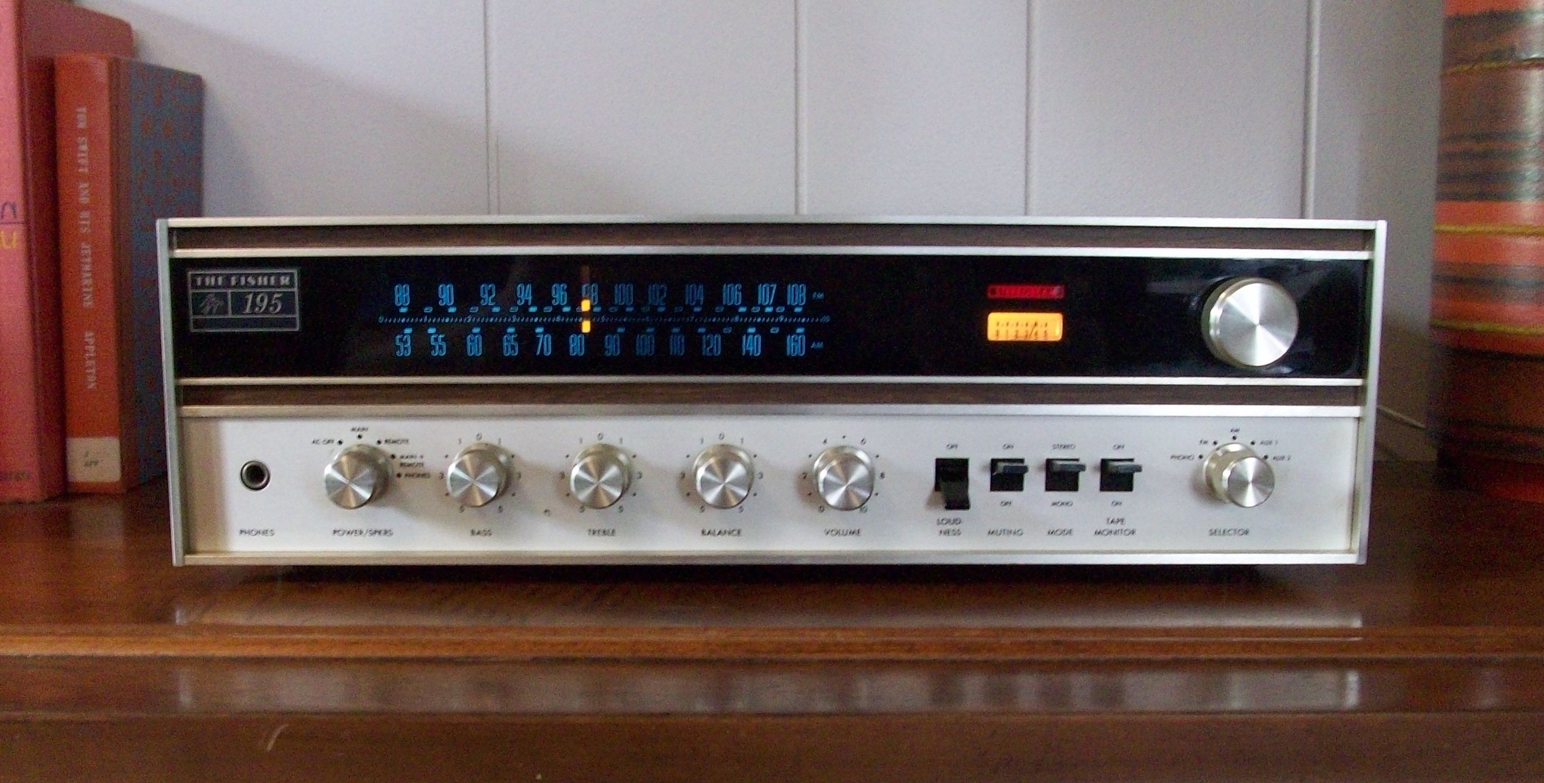 fisher vintage stereo