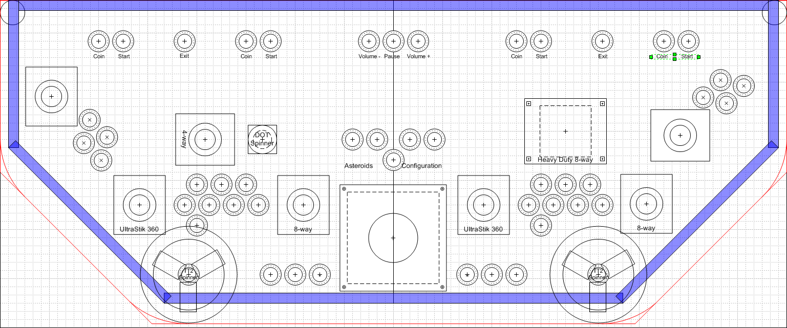 Want Feedback On Control Panel And Button Layout Arcade Buttons Arcade Control Panel Arcade Cabinet Plans