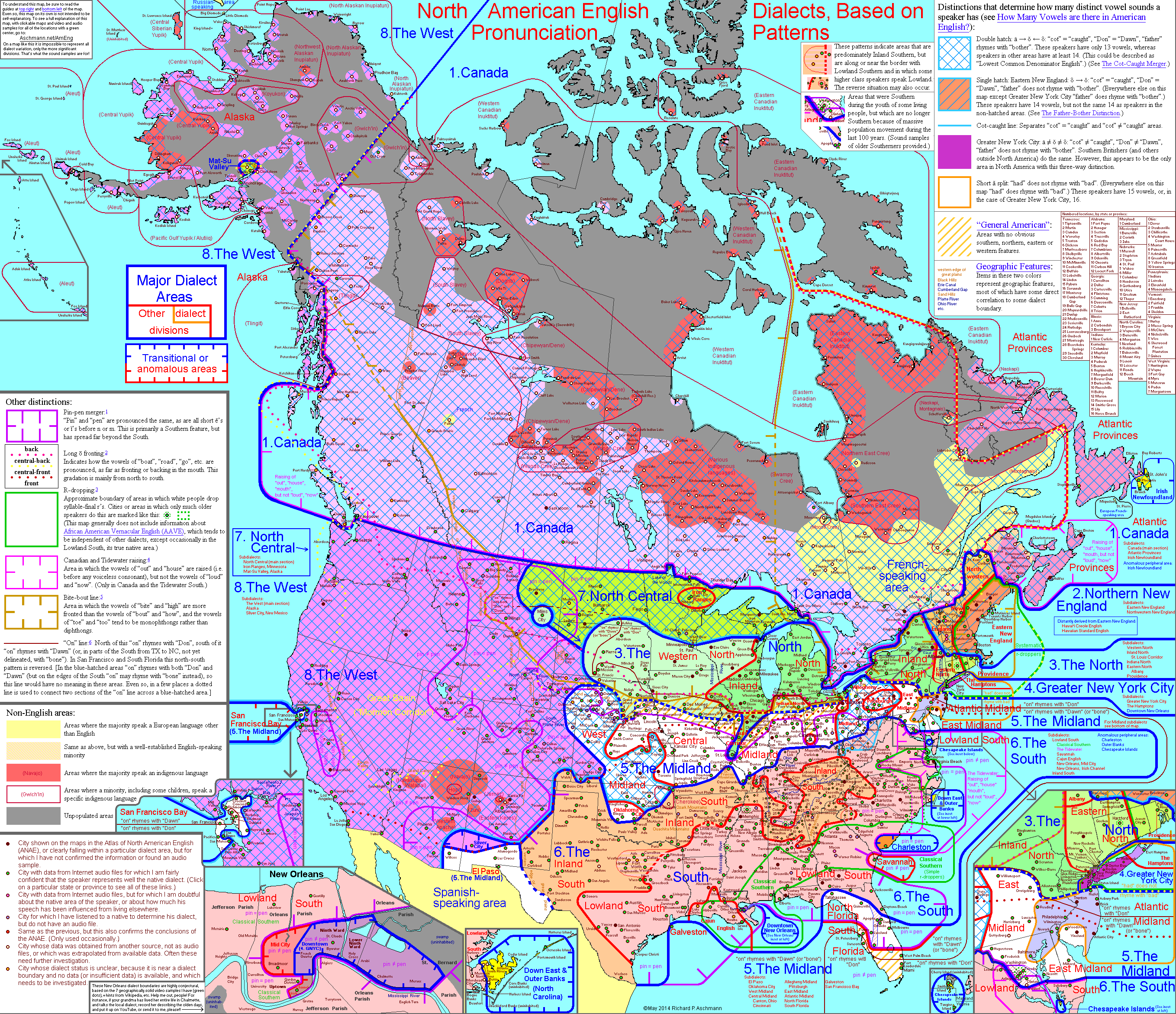 This interactive map of dialects of north america is so interesting this interactive map of dialects of north america is so interesting each region links to gumiabroncs Gallery