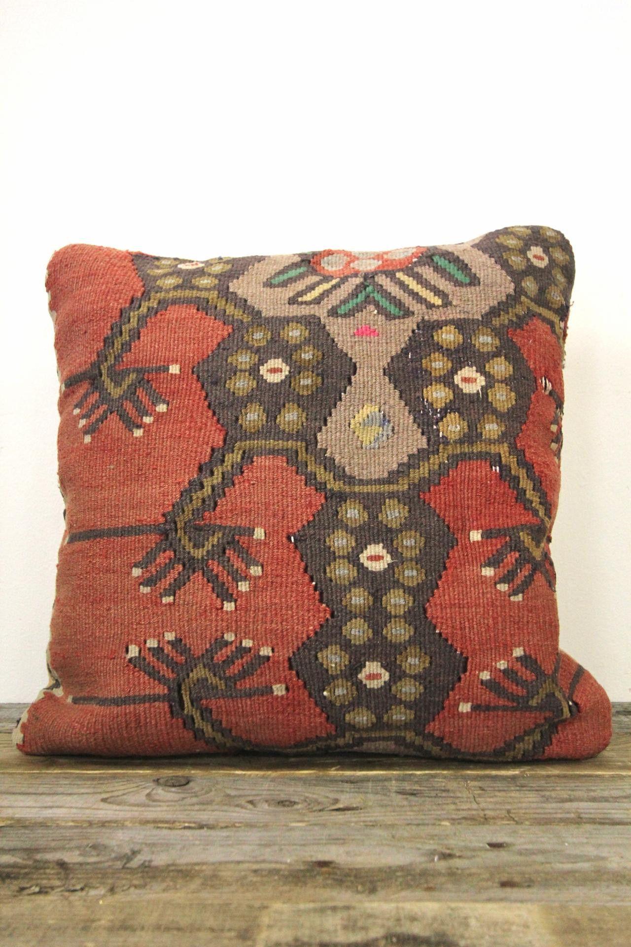 Traditional turkish kilim pillow cover kilim pillows traditional