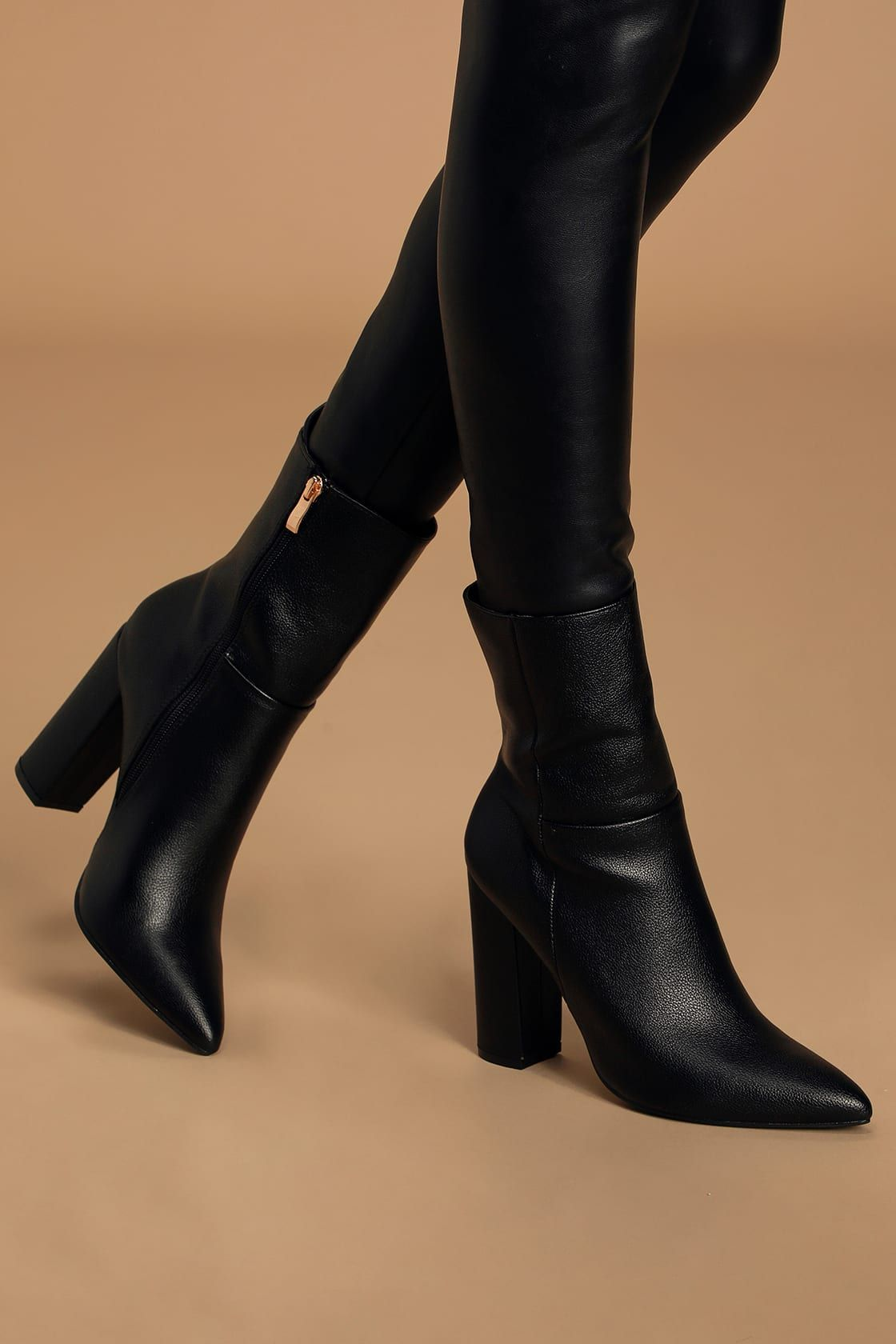 Calf boots outfit