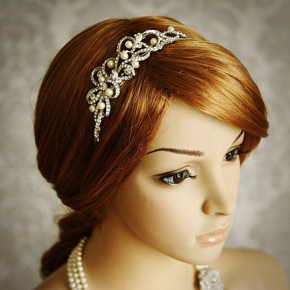 Best 25+ Bridal headbands ideas on Pinterest | Wedding ... - photo #1