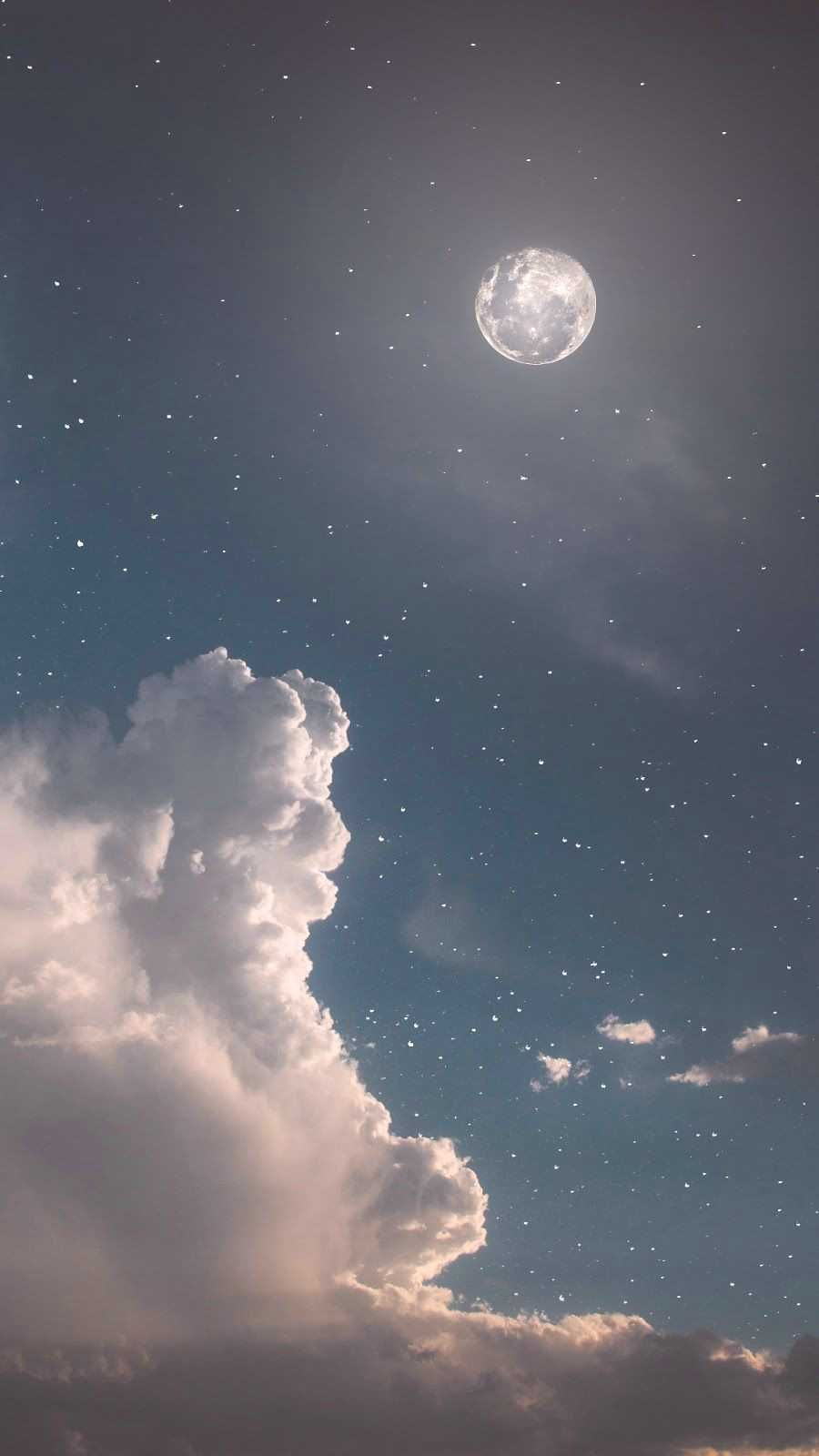 Aestheticwallpaper Background Aesthetic Wallpaper Moonlight Followme Android Iphone Night Star Sky Aesthetic Night Sky Wallpaper Aesthetic Wallpapers