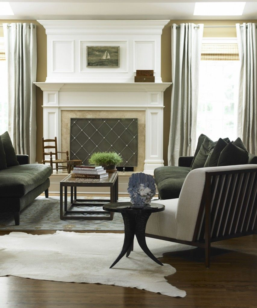 The ideas design of lynne scalo blend modern glamour with classic elegance