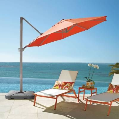 10 Cantilever Square Side Mount Umbrella Cantilever Umbrella Patio Umbrellas Outdoor