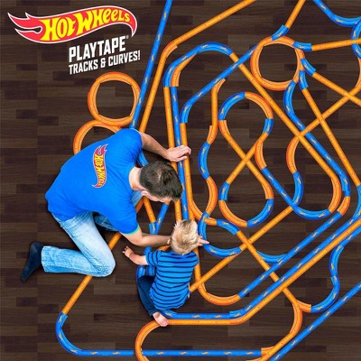 Hot Wheels Track and Curves Starter Kit - Blue