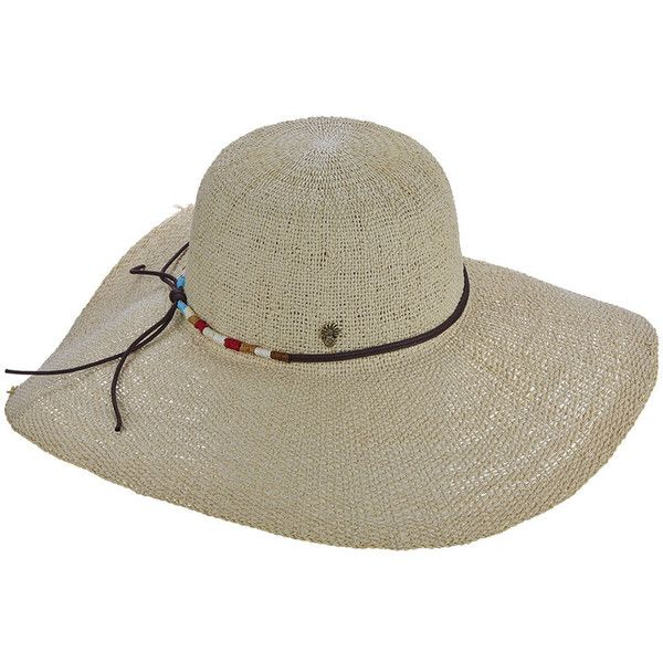 Tommy Bahama Women s Toyo Waxed Cord Big Brim Hat Bone Hats ( 40 ... 8633ebd8306c
