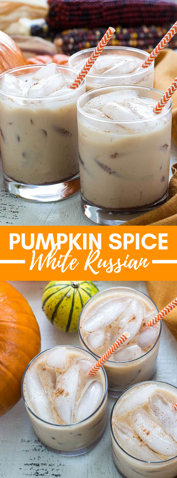 PUMPKIN SPICE WHITE RUSSIANS #drinks #falldrink #thanksgivingdrinksalcohol