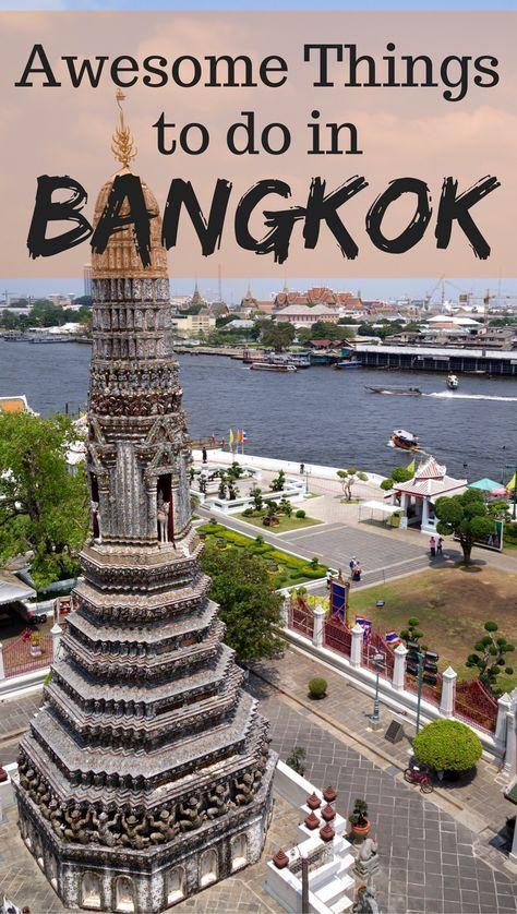Things To Do In Bangkok Bangkok Bangkok Trip And Adventure - Thailand vacation 10 things to know before you take off