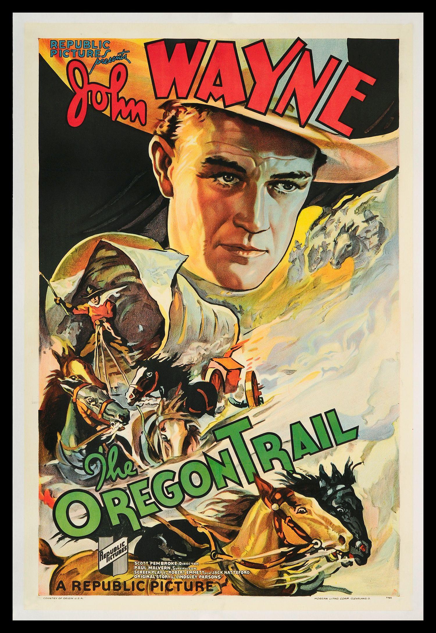 movie posters 1940s | john wayne us posters 1930s-1940s - fff movie