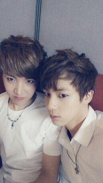 Jin and J-Hope - Bangtan Boys