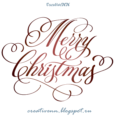 Free Digital Stamps Word Art Merry Christmas Happy New