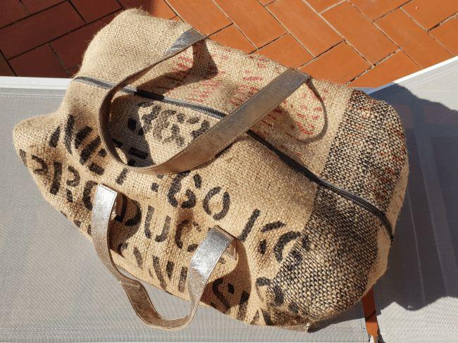 DIY Kaffeesack goes Duffle Bag DIY Kaffeesack goes Duffle Bag